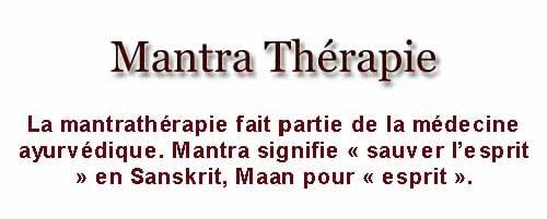 mantra-therapie